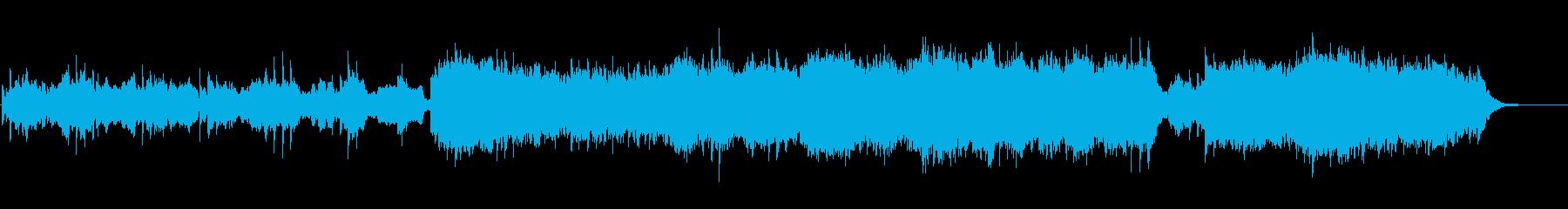 ピアノのフレーズが叙情的なサスペンスの再生済みの波形