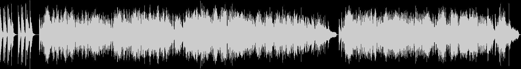 遺作/ショパン・ソフトピアノの未再生の波形