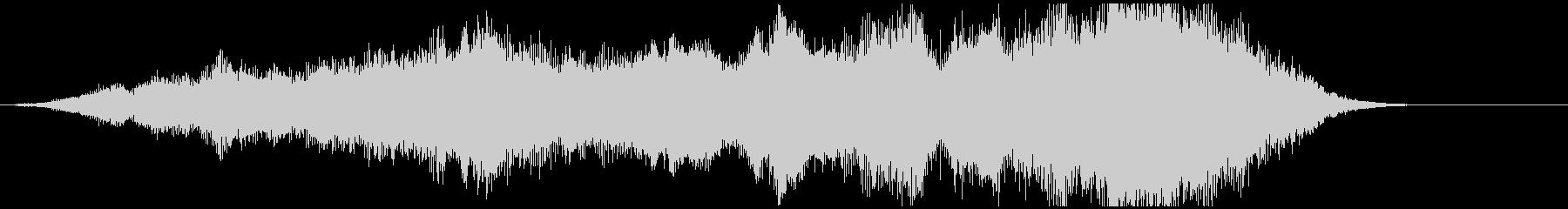 「不快音注意」ホラーME 短い雰囲気音の未再生の波形