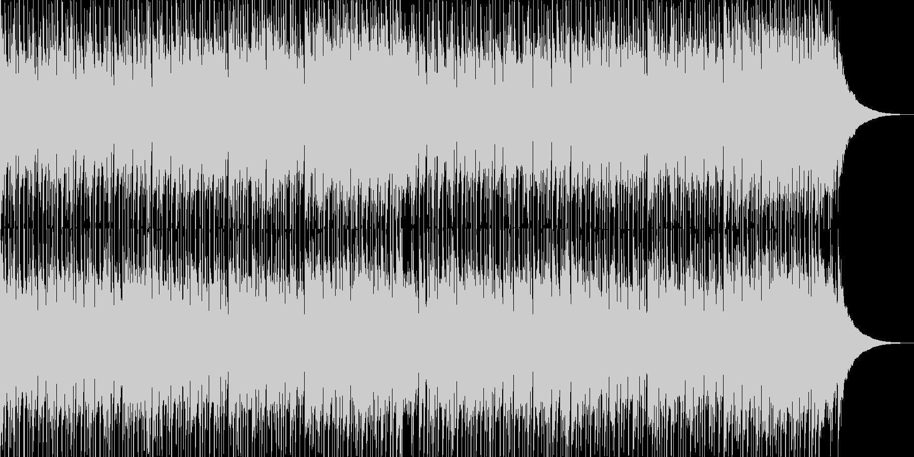 フュージョン風明るいポップス02の未再生の波形