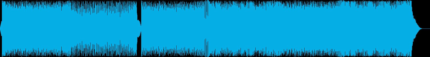 爽やかで疾走はのあるEDM Vo有の再生済みの波形