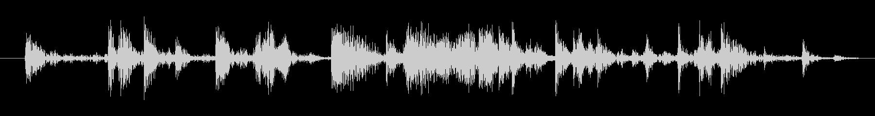 氷を入れる音(カラカラ)の未再生の波形