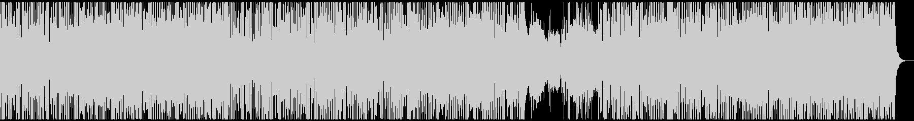 エレクトロでクールなスムースジャズの未再生の波形