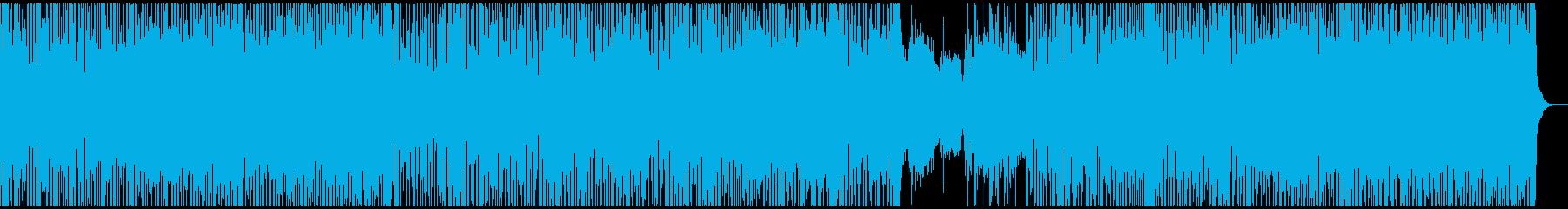 エレクトロでクールなスムースジャズの再生済みの波形