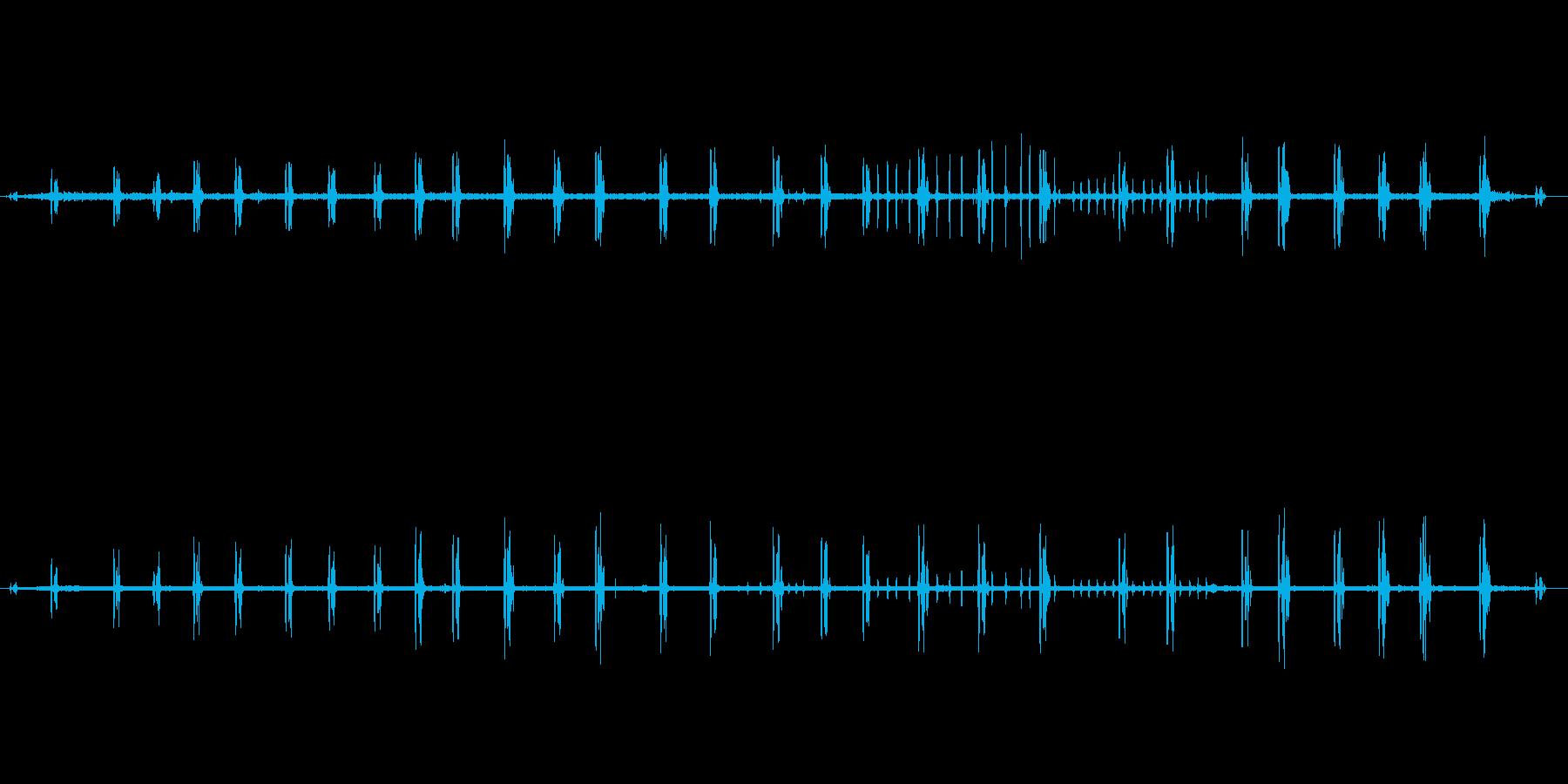 【自然音】朝の風景01(北八ヶ岳)の再生済みの波形
