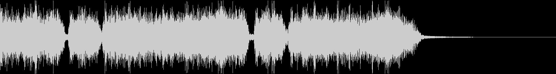 エネルギッシュ・ロックなサウンドロゴ05の未再生の波形