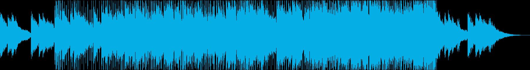 おしゃれでチル・陽気なファンク・ブルースの再生済みの波形