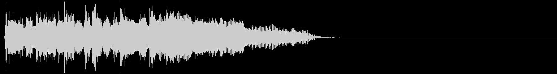 ブルージーなハーモニカの未再生の波形