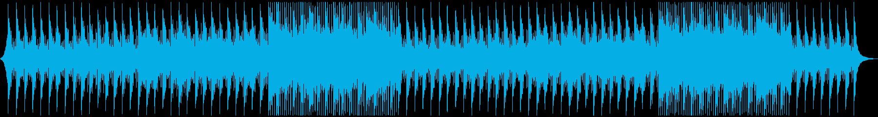 コーポレートに!透明で前向きなバイオリンの再生済みの波形