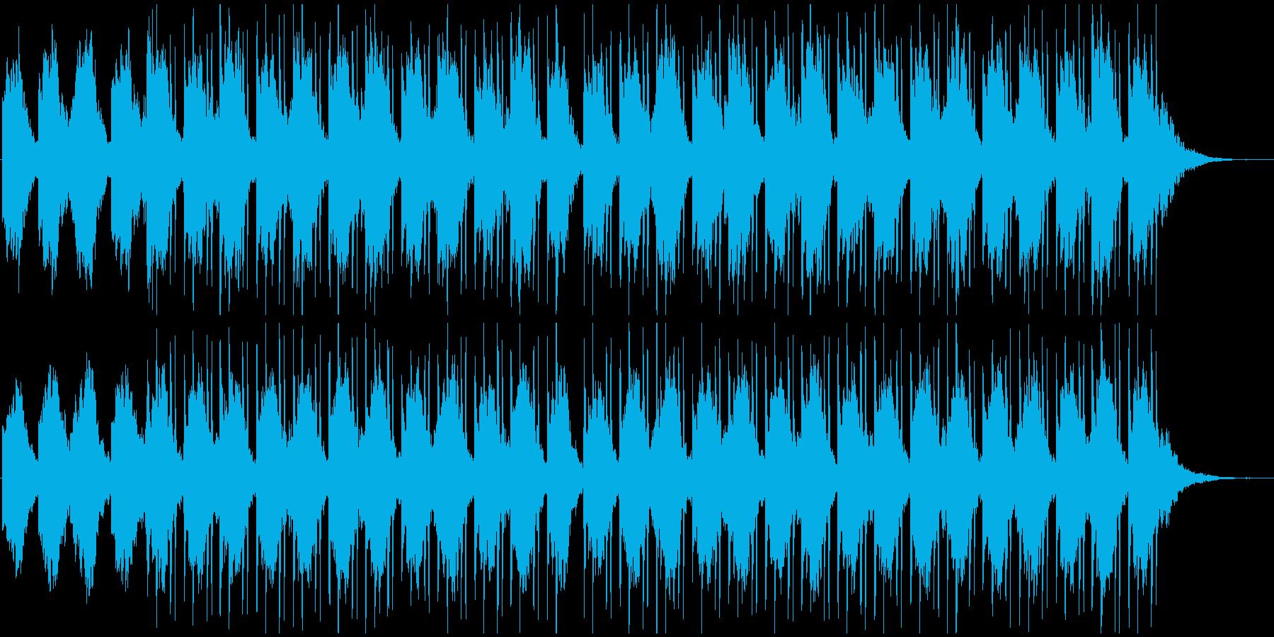 【LOFI HIPHOP】深夜勉強用Bの再生済みの波形