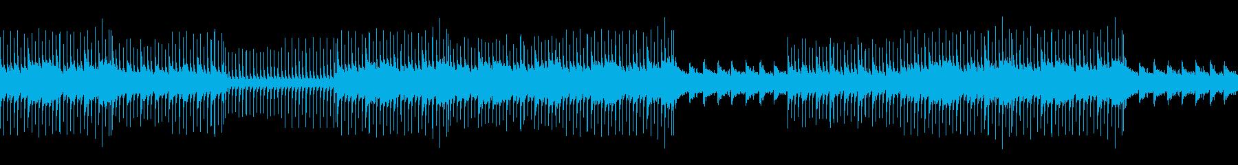お洒落/前向き/シンプル/癒し/リードの再生済みの波形