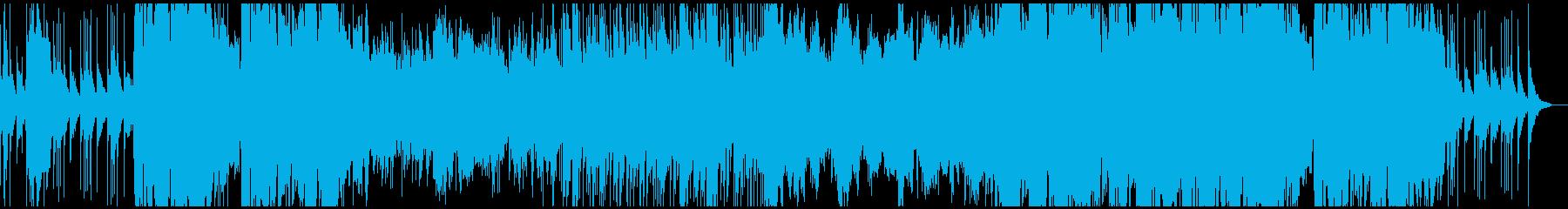 ファンタジーゲーム(RPG)城の曲の再生済みの波形
