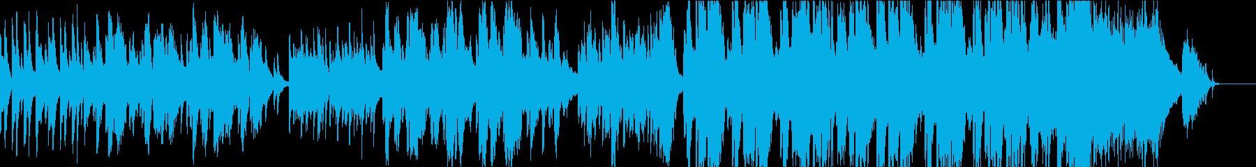 春止歌:ハープと弦の透明感・感動的・和風の再生済みの波形