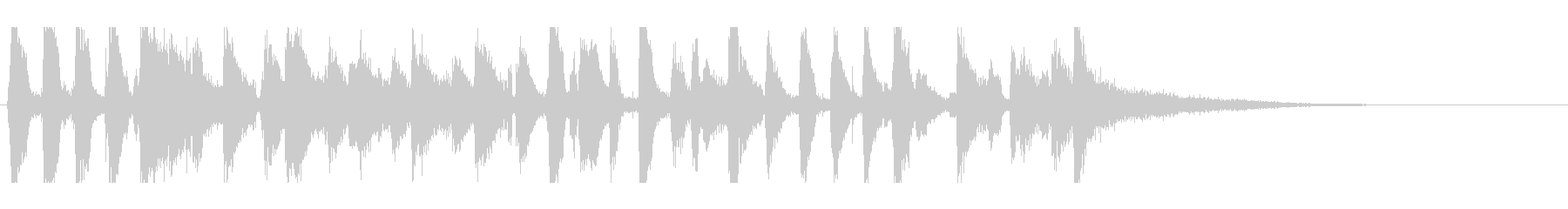 ジャズピアノジングル・オールドスタイルの未再生の波形