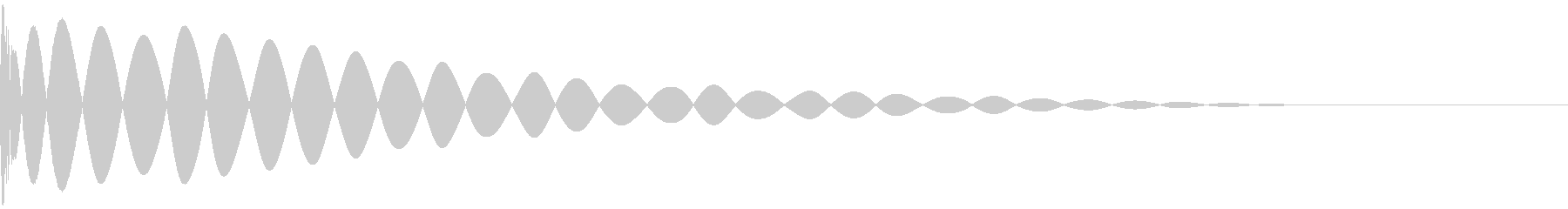 DTM Kick 83 オリジナル音源の未再生の波形