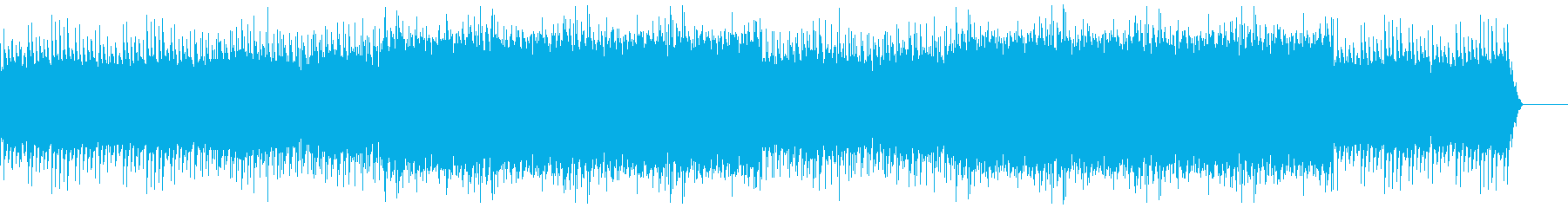 回想シーンで使えるBGMの再生済みの波形