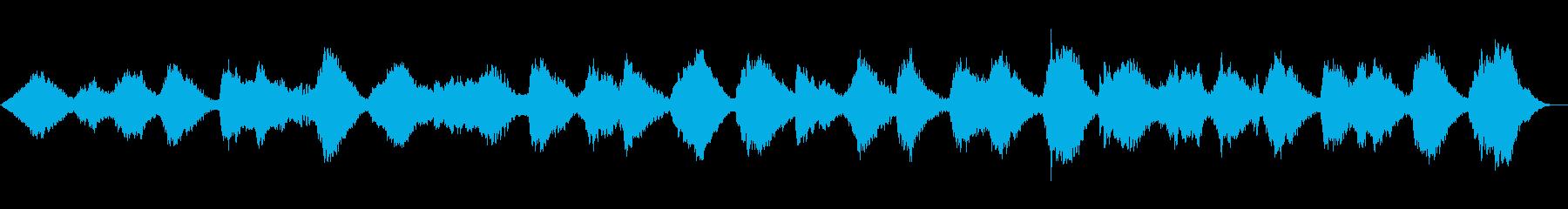 海の音を使ったゆったり壮大なアンビエントの再生済みの波形