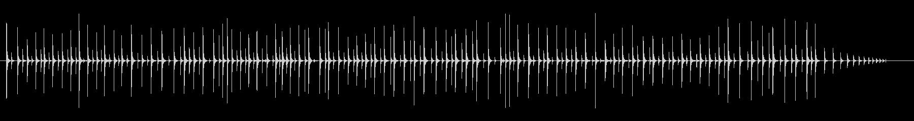 ボールバウンス-バウンドするボール...の未再生の波形