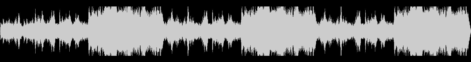グオーン(ホラーなどで鳴っていそうな音)の未再生の波形