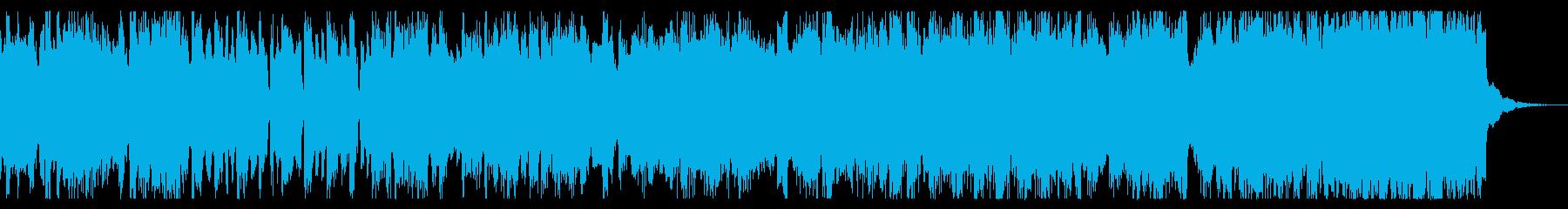 コミカル、軽快なチップチューンの再生済みの波形
