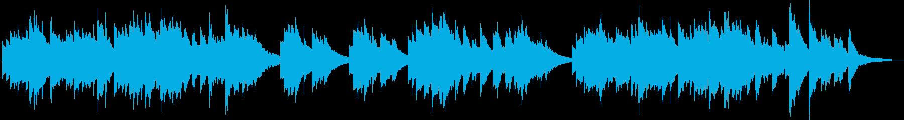 ピアノ演奏/和風・里山の夕日・歴史・故郷の再生済みの波形