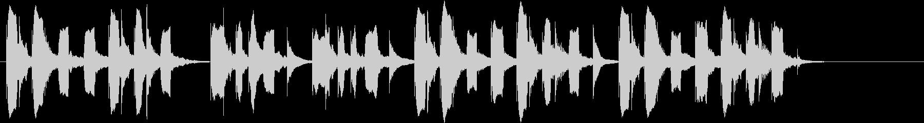 りこーダーがメインのほのぼのしたジングルの未再生の波形