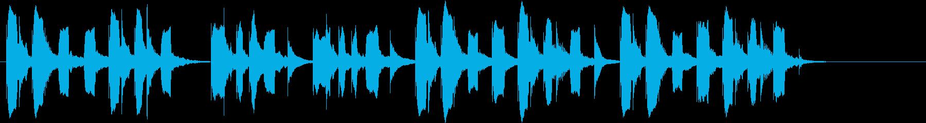 りこーダーがメインのほのぼのしたジングルの再生済みの波形
