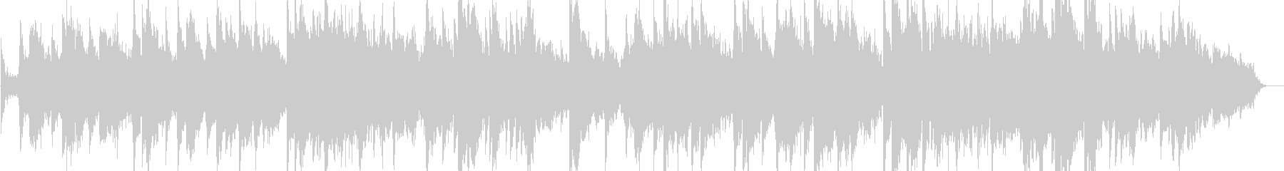 ボイスシンセとピアノによる即興曲の未再生の波形