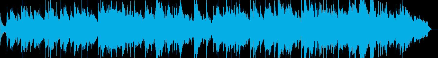 ボイスシンセとピアノによる即興曲の再生済みの波形