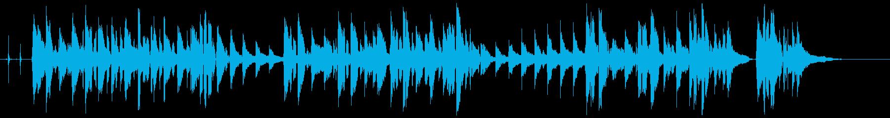 おつきさまの再生済みの波形
