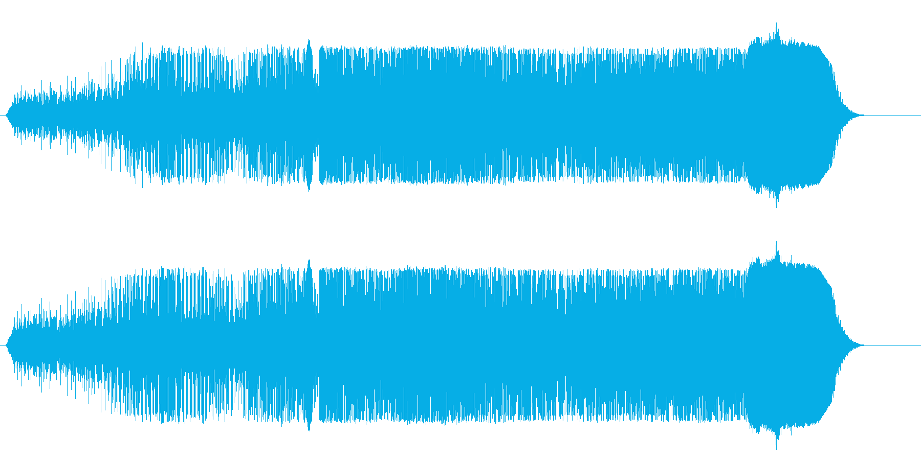ドラッグスター;離陸、車の回転、そ...の再生済みの波形