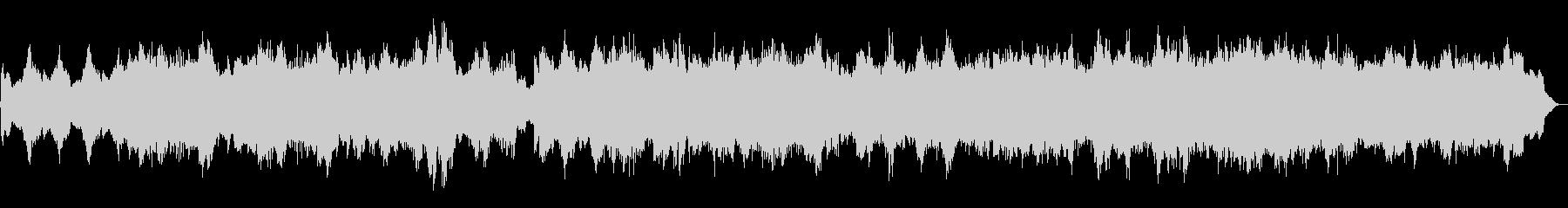 ハロウィン系BGM 魔法の森 を描いた曲の未再生の波形