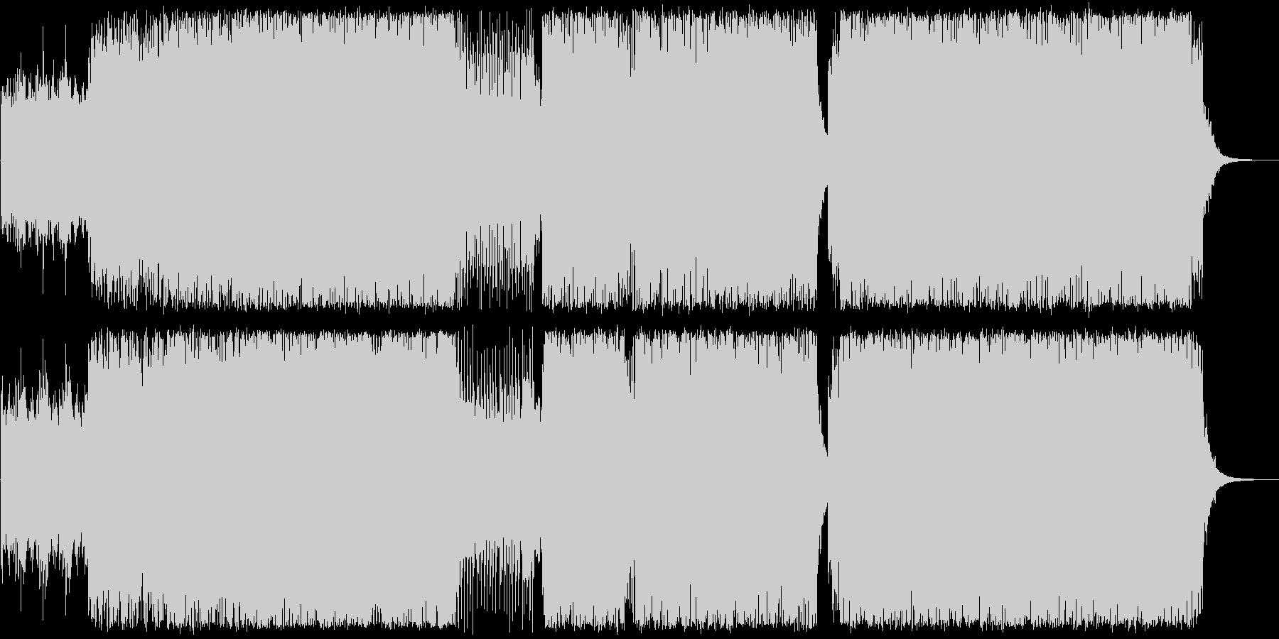 アートコア、幻想的なドラムンベースの未再生の波形