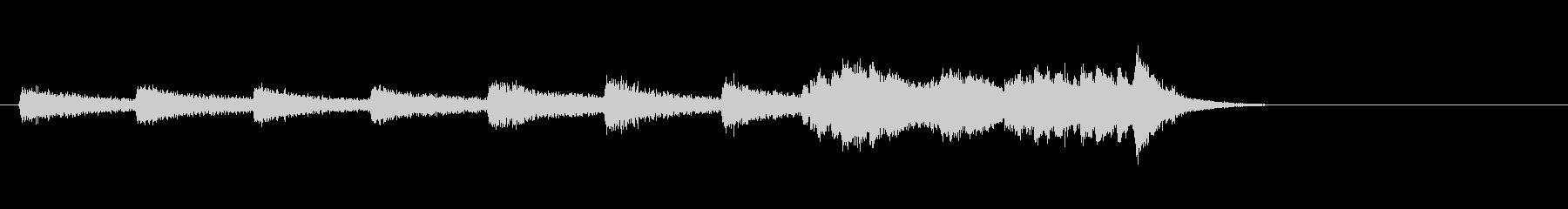 テーマ17:ピアノの未再生の波形