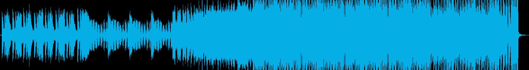 【サイトランス】エネルギッシュな宣伝動画の再生済みの波形