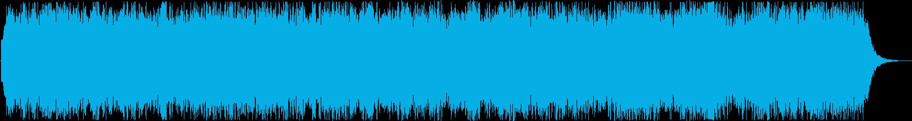 サイエンス・ドキュメンタリー系BGMの再生済みの波形