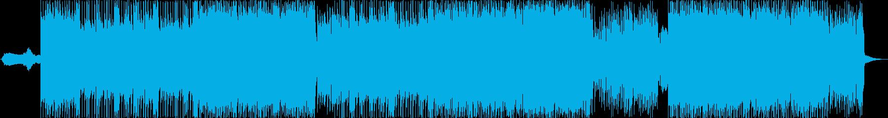 キャッチーな男性ボーカルのシンセポ...の再生済みの波形