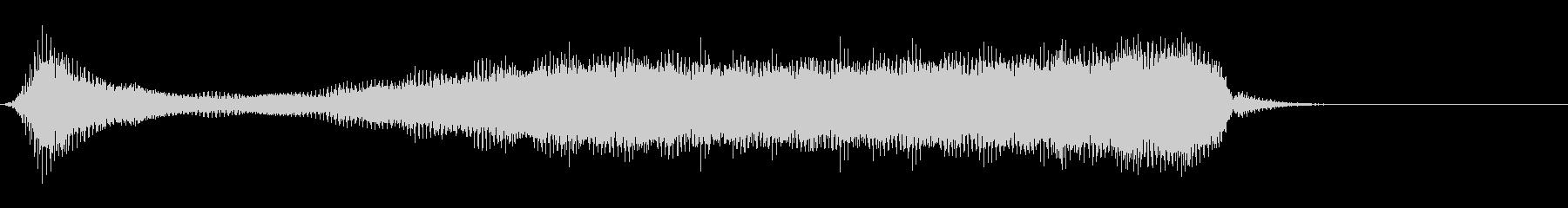 ハーモニカ:スローコードアクセント...の未再生の波形