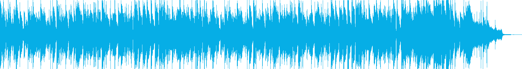 明るい、おしゃれな楽しいジャズの再生済みの波形