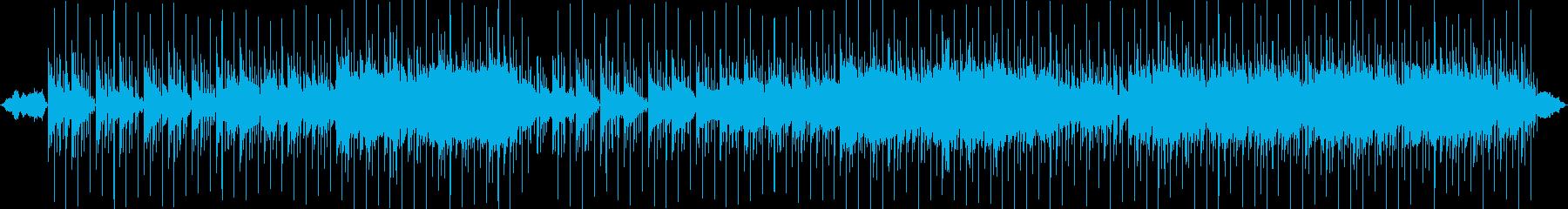 幻想的で響きがおしゃれなメロディーの再生済みの波形