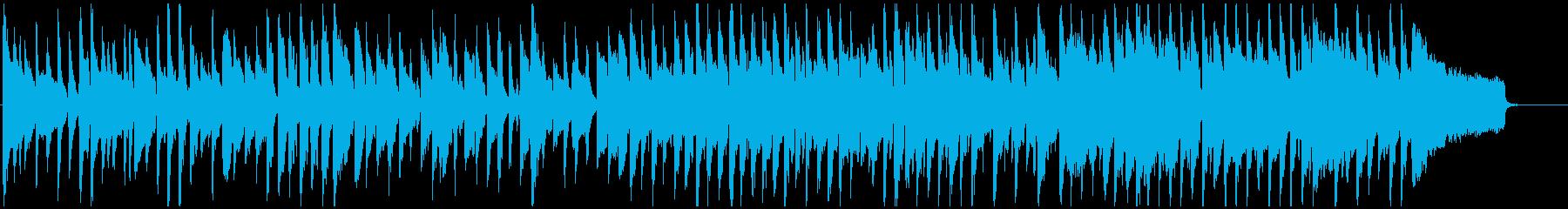 マヌケな雰囲気の脱力系リコーダー劇伴の再生済みの波形