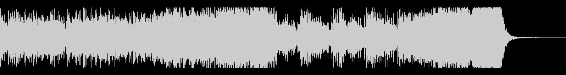 迫る恐怖ーシンセ・効果音・ダブステップの未再生の波形