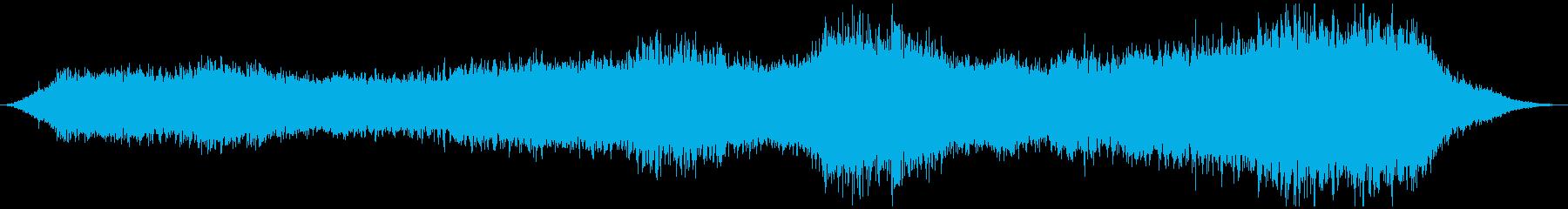 PADS スペース01の漂流の再生済みの波形