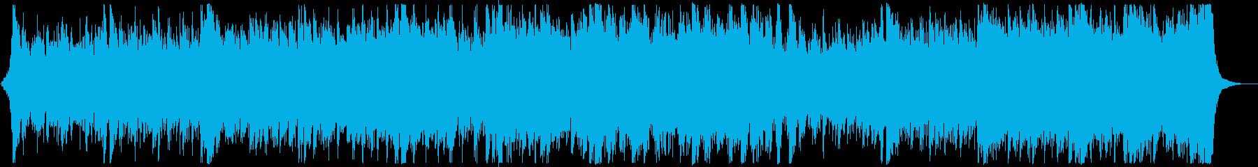 和風・和楽器・忍者エピック:フル1回の再生済みの波形
