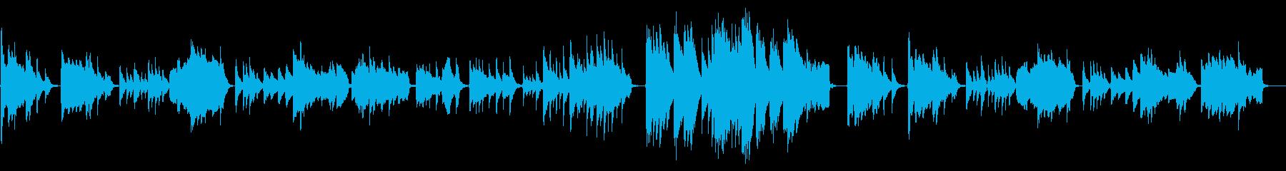 箏と尺八による渋い和風楽曲の再生済みの波形