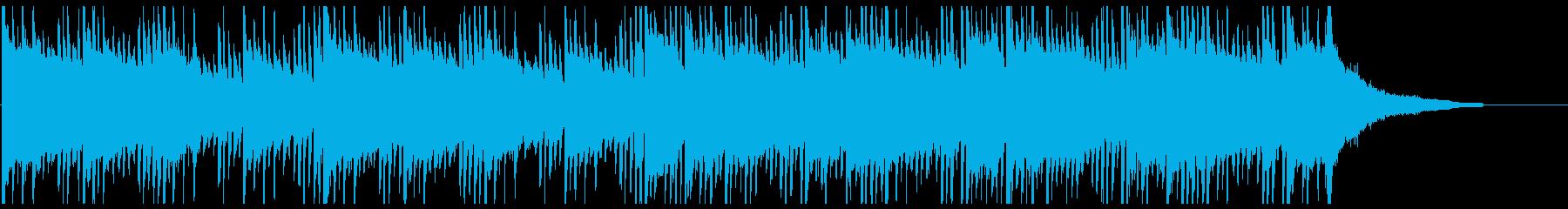 透明感 シンプル エレクトロ ループ系の再生済みの波形