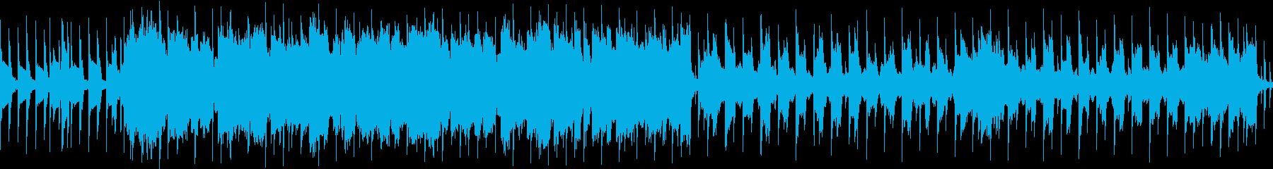 ループ版 ピコピコした感じの曲の再生済みの波形