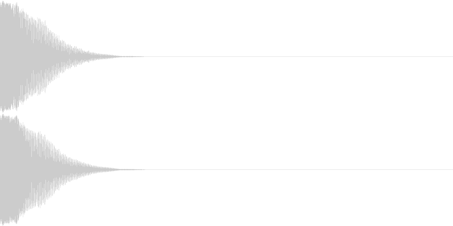 光る キラリ キューン 03の未再生の波形