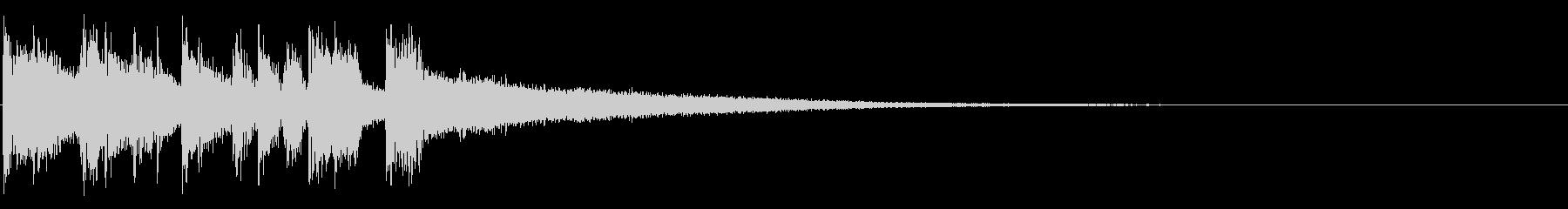アイキャッチ・オルガン・場面転換の未再生の波形