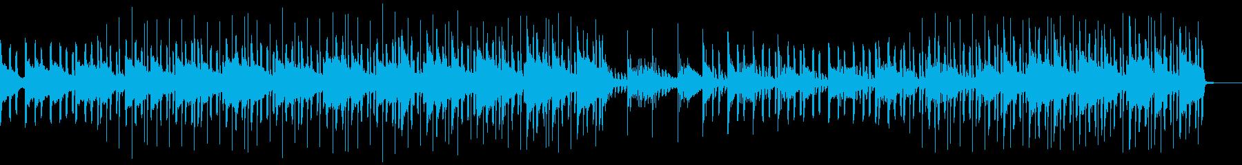 大人でチルな雰囲気のLoFiHihopの再生済みの波形